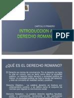 Capítulo I Derecho Romano
