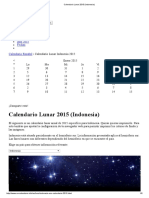 Calendario Lunar 2015 (Indonesia)