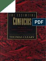 Confucius - Essential Confucius [trans. Cleary] (HarperCollins, 1992).pdf