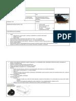 Especificacion Zapato y Guante Cuero
