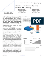Design and Fabrication of Minimum Quantity Lubrication (1)
