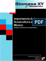 Importancia de La Acuacultura en Mexico
