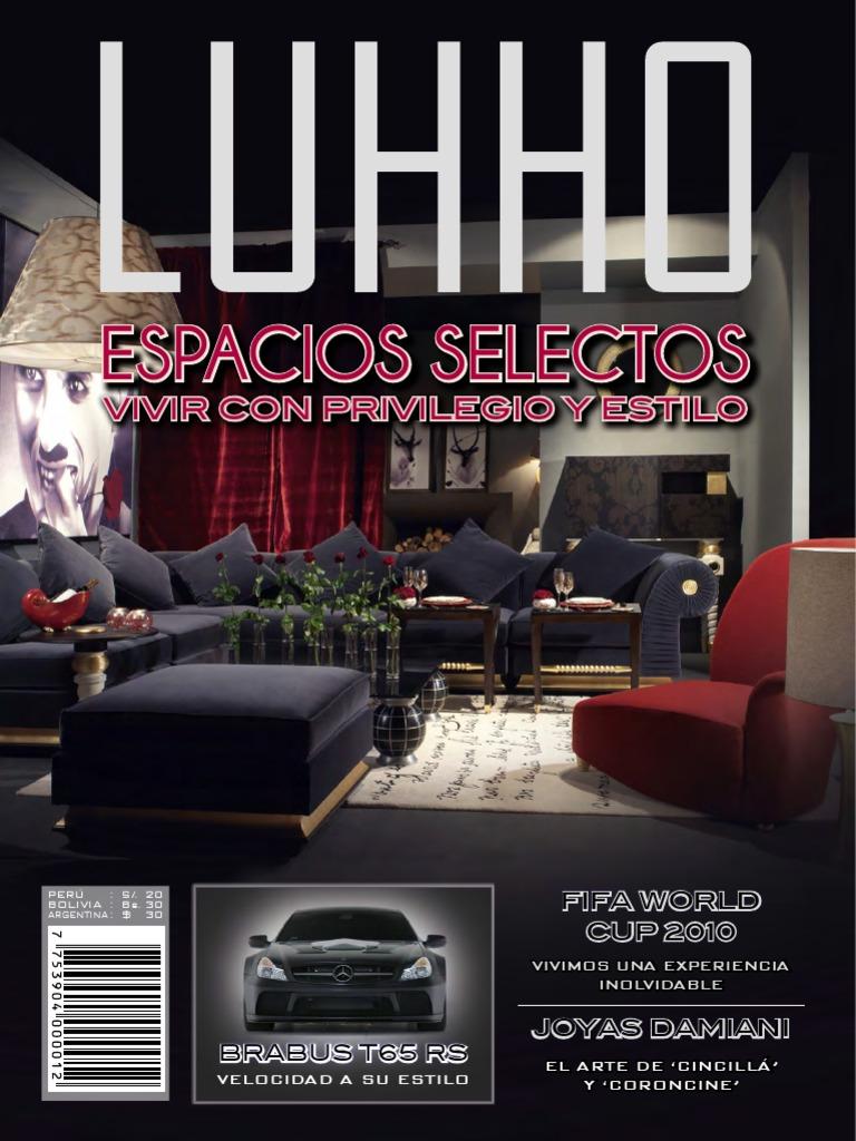 5dc2d7919f Revista Luhho Octava Edición