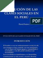 EVOLUCIÓN DE LAS CLASES SOCIALES EN EL PERÚ