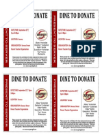 Seneca Street PTO Dine to Donate Coupons