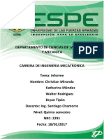 Informe Proyecto Electronica