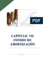 Fondos de Amortización