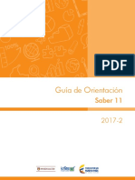 Guia de Orientacion Saber 11 2017-2