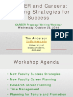 CAREERs - Planning Strategies for Successful Careers