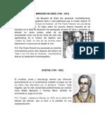 Biografias de los primeros literarios en el mundo