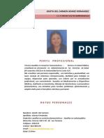 Hoja de Vida Giseth Gomez Fernandez - Copia