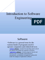 PPT Introduction to Software Engineering