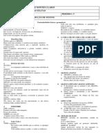 Particularidades Léxicas e Gramaticaissss