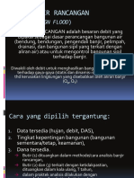Hidrologi Kuliah Vi (Banjir Rancangan)