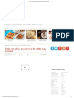 Pollo Con Piña, Una Receta de Pollo Muy Oriental - PequeRecetas