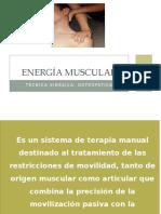 Energía Muscular