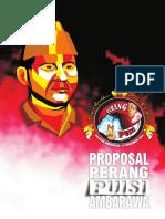 Proposal Kerjasama Sponsorship Pagelaran Kolosal Visualisasi Sastra Perang Puisi