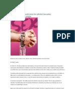 Comprensión y Ayuda Para Los Adictos Sexuales