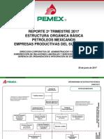 Estructura Básica Pemex 2017