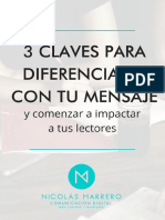 3 Claves Para Diferenciarte Con Tu Mensaje