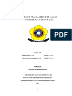 Laporan Kasus Ulkus Traumatikus Periode 10 Juli-24 Juli 2017 Revisi