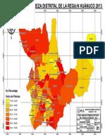 mapa  huanuco