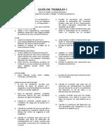 GUÍA de TRABAJO I. Corriente Eléctrica. Intensidad, Voltage, Resistencia (2)