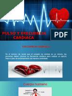 Pulso y Frecuencia Cardíaca