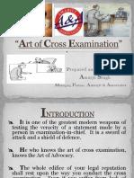 Art of Cross Exam