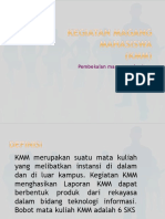 Pengarahan KMM 2017
