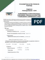 4.Hidrograma Triangular y Adimensional