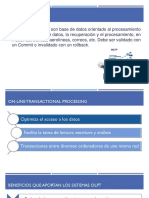OLTP on Line Transactional Processing