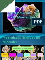 Introduccion a La Mineralogia