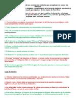 Decalogo- Las Nueve Proposiciones y Las 20 Reglas