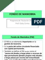 Fondo de Maniobra