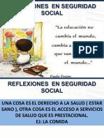 """""""Reflexiones en Seguridad Social"""". Rector Universidad CES, doctor Juan Camilo Osorio."""