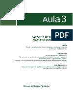 Fatores Geradores de Variabilidade Genetica