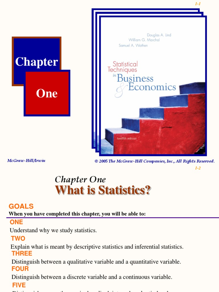 Chapter 01 PowerPoint | Level Of Measurement | Statistics