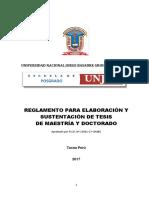 Reglamento Elaboracion y Sustentacion Tesis (1)