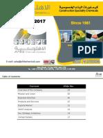 Ahlia Chemicals Profile 2017