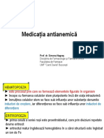 MEDICATIA ANTIANEMICA