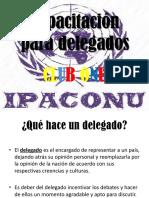 Capacitación Para Delegados IPACONU
