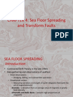 Seafloor Spreading and Transform faults
