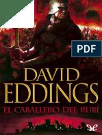 El caballero de rubí - David Eddings