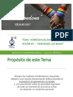 Homosexualidad y Biblia - Sesión 1 - Sentando Las Bases