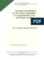 Vidargas - El Noroeste Novohispano en Las Cortes Españolas