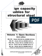 Design Capacity Tables for Structural Steel-Volume 1- Open Sections 3rd Edition