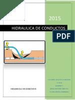 Desarrollo de Ejercicios Hidraulica 2015