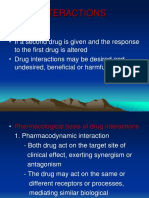 Lecture 27 - Drug Interactions