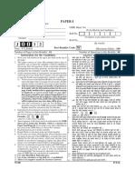 UGC NET Generral (00) Paper 2012 Jun to 2017 Jan